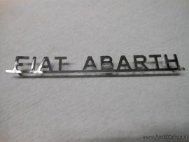 Embleem  Fiat Abarth   22x2.5 cm