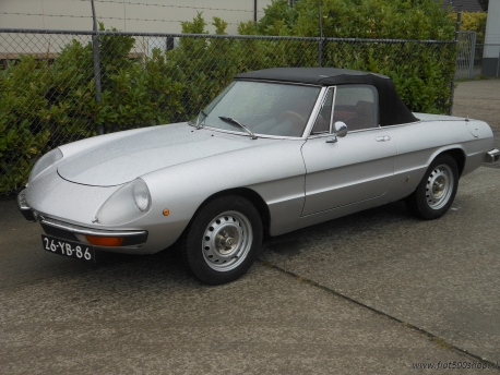 Helaas verkocht /just sold Alfa Spider