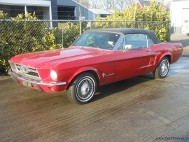 Ford mustang convertibele 1968 6 cilinder automaat