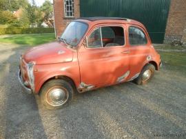 Fiat 500 L rood  opknapper