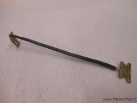 Kabel aan motorkap