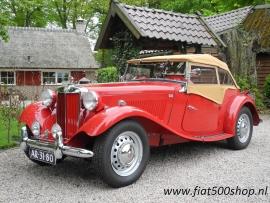 Triumph TD 1952  compleet nieuw
