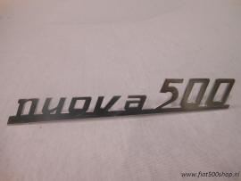Achter embleem nuova 500