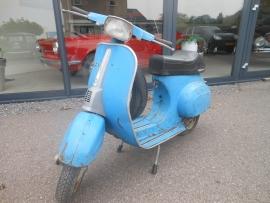 Scooter Vespa 50cc blauw bj 78