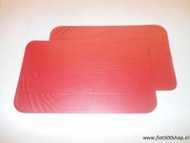 Deurpanelen set rood 500 R