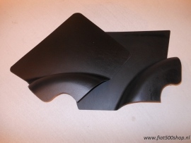 Achterpanelen set zwart 500 F/R