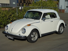 Kever 1303 cabrio tripple white