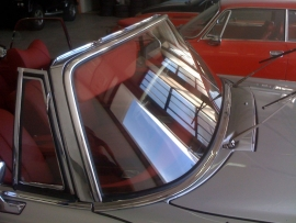 Voorruit Fiat 128 coupe blank